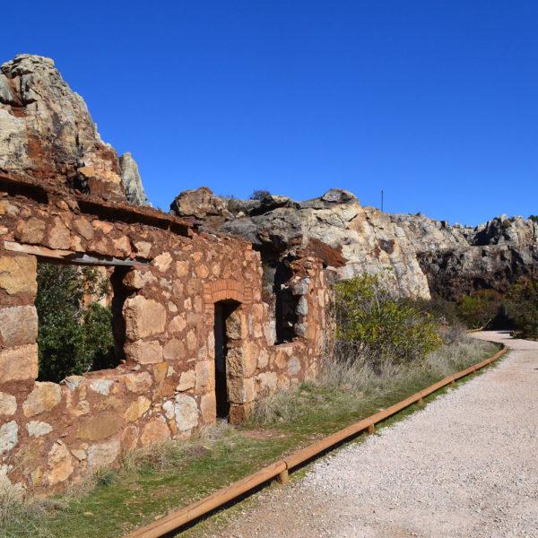 Restos ferroviarios y mineros