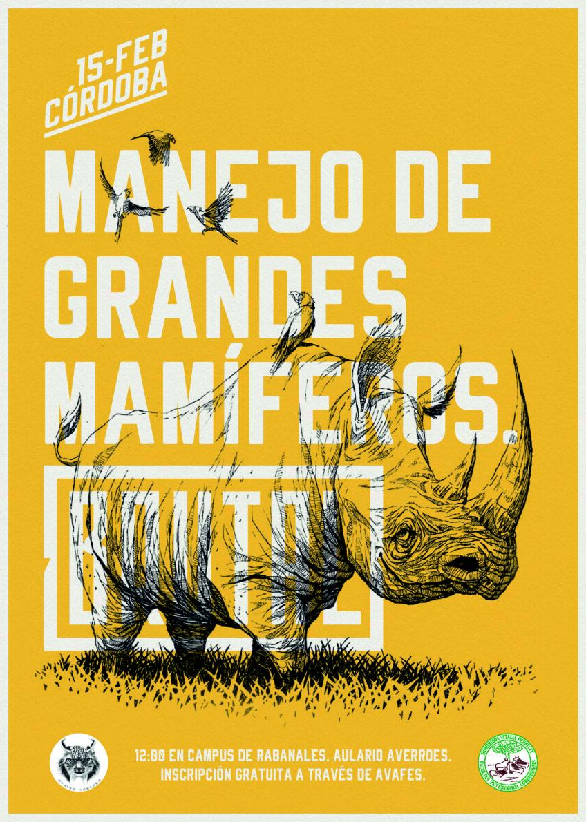 "CHARLA ""MANEJO DE GRANDES MAMÍFEROS"""