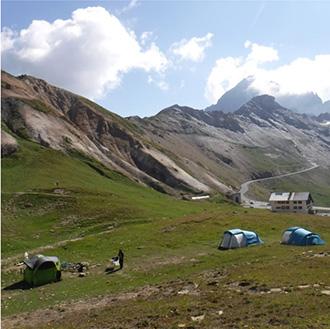 Equipamiento montado en Col du Galibier