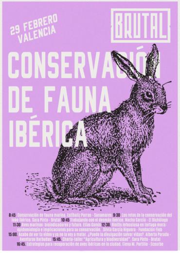 WORKSHOP 15: CONSERVACIÓN DE FAUNA IBÉRICA – ONLINE (antes en Valencia)