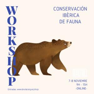 WORKSHOP ONLINE – CONSERVACIÓN FAUNA IBÉRICA